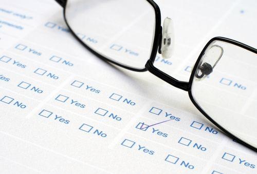 Personal affairs checklist