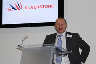 Stuart Dey speaks at Motorcycle Industry Association meeting