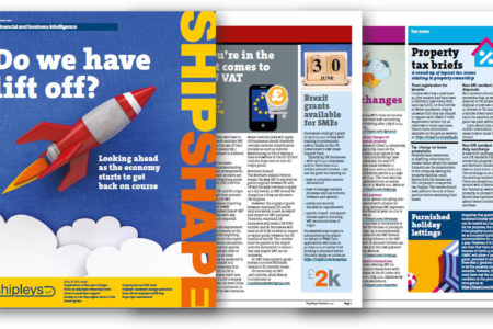 Shipleys ShipShape magazine graphic